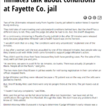 Jail Conditions