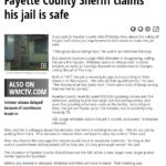 """Riles' """"Jail is safe"""""""