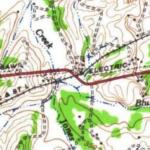 original map of crossing